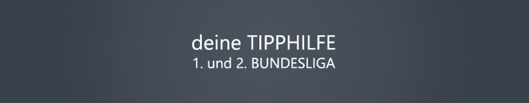 Bundesligatipphilfe